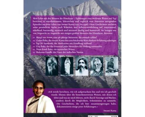 AV108 - Swami Rama: Mein Leben mit den Meistern des Himalayas (Backcover)