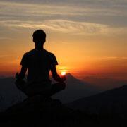 Meditation Bild