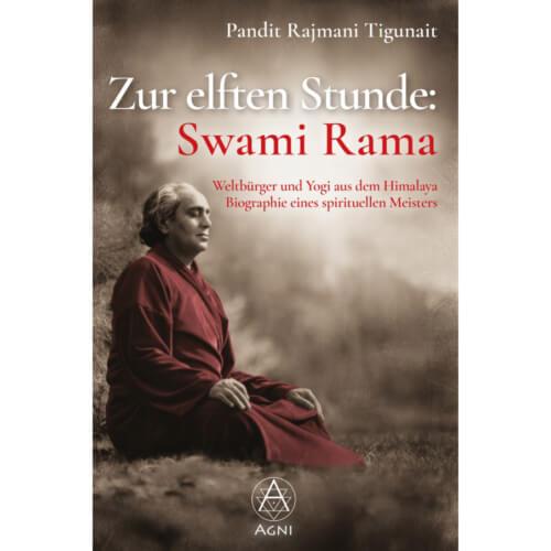 Zur elften Stunde: Swami Rama - Hardcover (Vorderseite)
